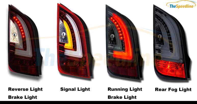 Volkswagen Up E Up Led Light Tube Bar Tail Light Rear Lamp